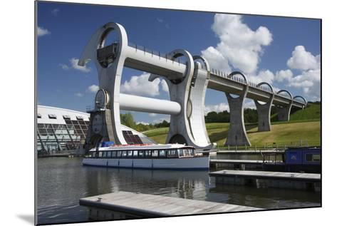 Falkirk Wheel, Stirlingshire, Scotland, 2009-Peter Thompson-Mounted Photographic Print