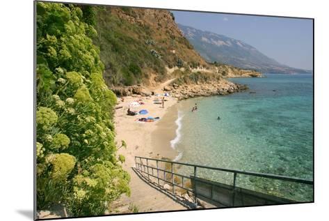 Agios Thomas Beach, Kefalonia, Greece-Peter Thompson-Mounted Photographic Print