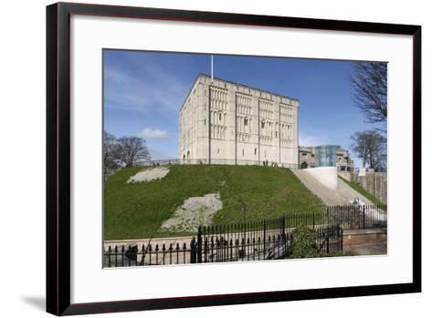 Norwich Castle, Norfolk, 2010-Peter Thompson-Framed Art Print