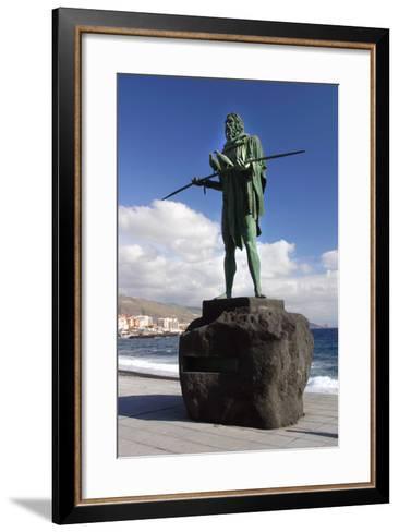 Guanche Statue, Candelaria, Tenerife, 2007-Peter Thompson-Framed Art Print