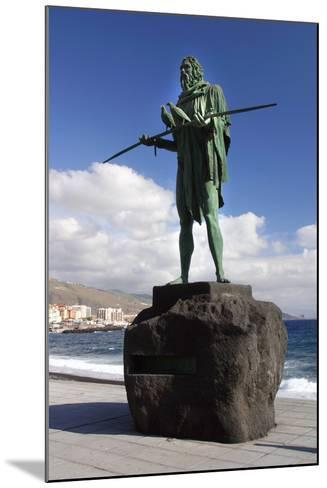 Guanche Statue, Candelaria, Tenerife, 2007-Peter Thompson-Mounted Photographic Print