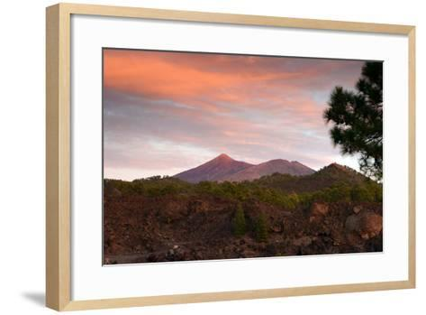 Mount Teide, Volcano on Tenerife, Canary Islands, 2007-Peter Thompson-Framed Art Print