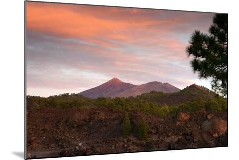 Mount Teide, Volcano on Tenerife, Canary Islands, 2007-Peter Thompson-Mounted Photographic Print