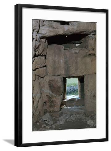 Naveta at Els Tudons, an Interior View, C.2000 Bc-CM Dixon-Framed Art Print