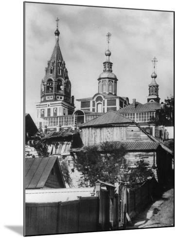 Church of the Holy Martyr Nikita, Moscow, Russia, 1881- Scherer Nabholz & Co-Mounted Photographic Print