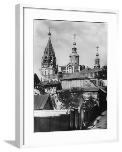 Church of the Holy Martyr Nikita, Moscow, Russia, 1881- Scherer Nabholz & Co-Framed Art Print