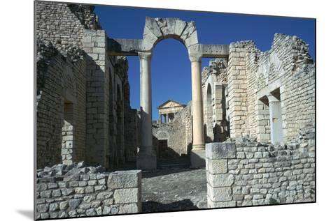 Roman City of Thugga, 2nd Century-CM Dixon-Mounted Photographic Print