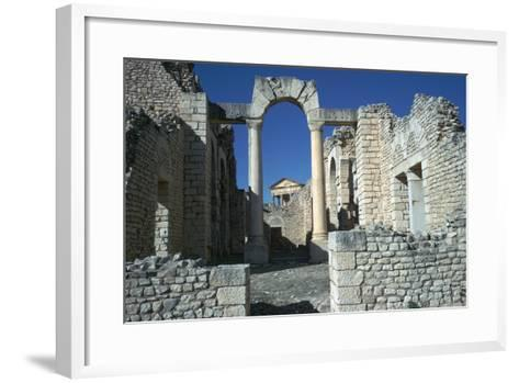 Roman City of Thugga, 2nd Century-CM Dixon-Framed Art Print