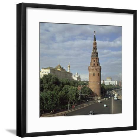 The Kremlin from the South West, 15th Century-Antonio Gislardi-Framed Art Print