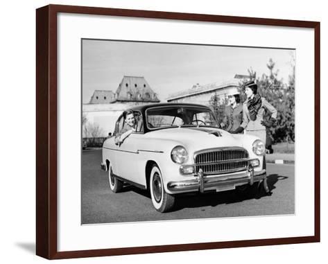 Fiat 1900A, C1954-C1958--Framed Art Print