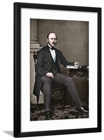 The Last Portrait of Albert, Prince Consort, 1861-Vernon Heath-Framed Art Print
