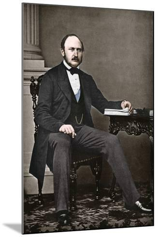 The Last Portrait of Albert, Prince Consort, 1861-Vernon Heath-Mounted Photographic Print