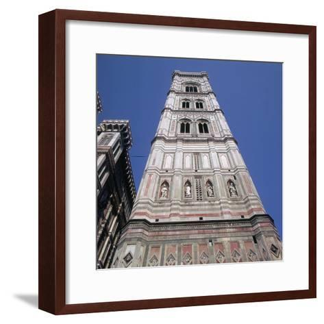 Giottos Tower in Florence Artist: Giotto-Giotto-Framed Art Print