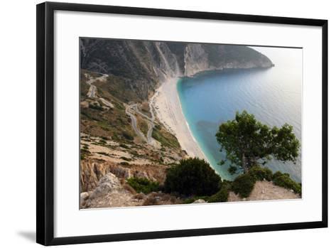 Mirtos Beach, Kefalonia, Greece-Peter Thompson-Framed Art Print
