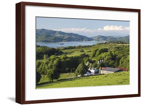 West Loch Tarbert from Kintyre, Argyll and Bute, Scotland-Peter Thompson-Framed Art Print