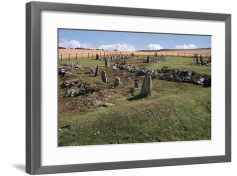 Braiid Norse Site on the Isle of Man-CM Dixon-Framed Art Print