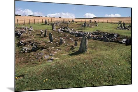 Braiid Norse Site on the Isle of Man-CM Dixon-Mounted Photographic Print