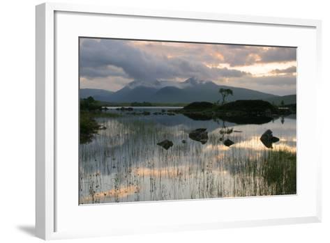 Black Mount, Argyll and Bute, Scotland-Peter Thompson-Framed Art Print