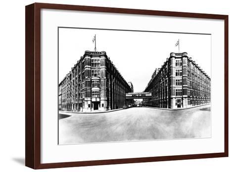 Head Office and Works of Joseph Lucas, Great King Street, Birmingham, West Midlands, 1961-Michael Walters-Framed Art Print