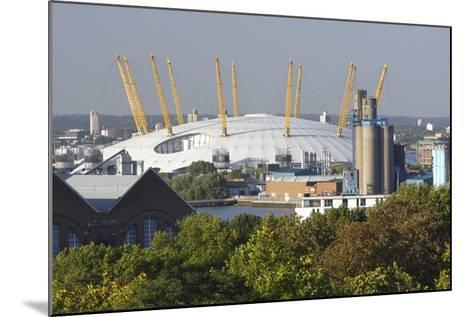 The O2 Arena from Greenwich Park, London, 2009-Peter Thompson-Mounted Photographic Print