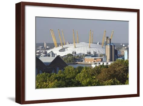 The O2 Arena from Greenwich Park, London, 2009-Peter Thompson-Framed Art Print