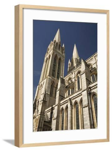 Truro Cathedral, Cornwall, 2009-Peter Thompson-Framed Art Print