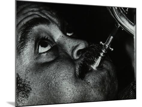 American Trumpet and Flugelhorn Player Art Farmer at the Bell, Codicote, Hertfordshire, 1983-Denis Williams-Mounted Photographic Print