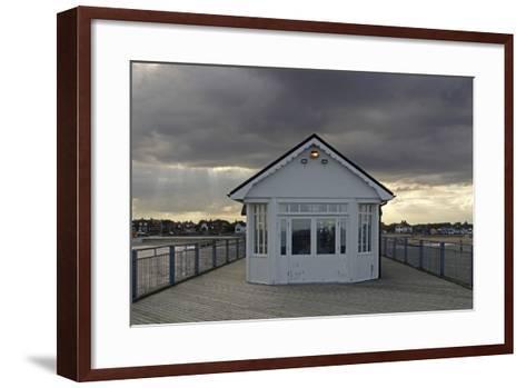 Pier, Southwold, Suffolk-Peter Thompson-Framed Art Print