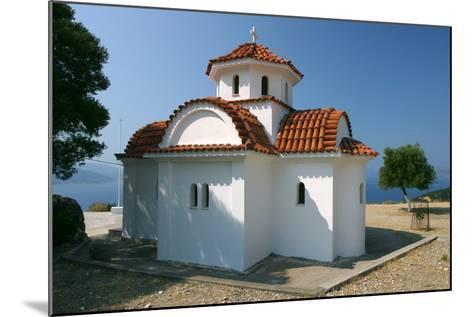 Monastery of Agrilion Church, Kefalonia, Greece-Peter Thompson-Mounted Photographic Print