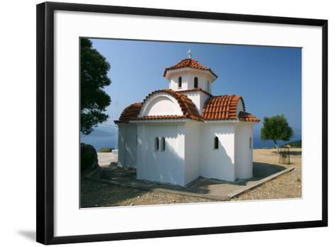 Monastery of Agrilion Church, Kefalonia, Greece-Peter Thompson-Framed Art Print