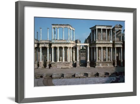 The Roman Theatre in Merida, Spain, 1st Century Bc-CM Dixon-Framed Art Print