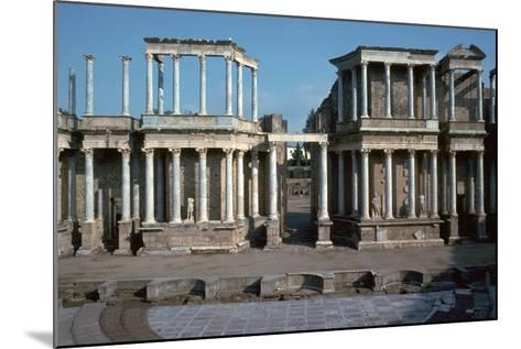 The Roman Theatre in Merida, Spain, 1st Century Bc-CM Dixon-Mounted Photographic Print