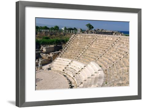 Roman Theatre, Salamis, North Cyprus-Peter Thompson-Framed Art Print