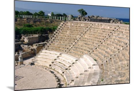 Roman Theatre, Salamis, North Cyprus-Peter Thompson-Mounted Photographic Print
