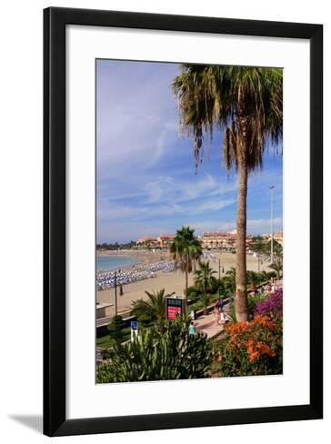 Playa De Las Vistas, Los Cristianos, Tenerife, Canary Islands, 2007-Peter Thompson-Framed Art Print