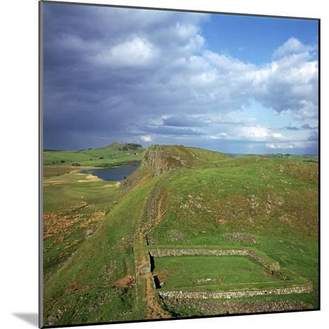 Hadrians Wall, Looking East to Milecastle, 2nd Century-CM Dixon-Mounted Photographic Print