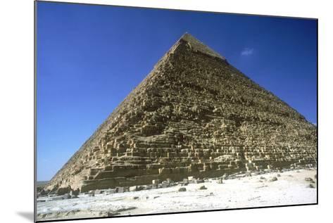Pyramid of Khafre (Chephren), Giza, Egypt, 4th Dynasty, 26th Century Bc-CM Dixon-Mounted Photographic Print