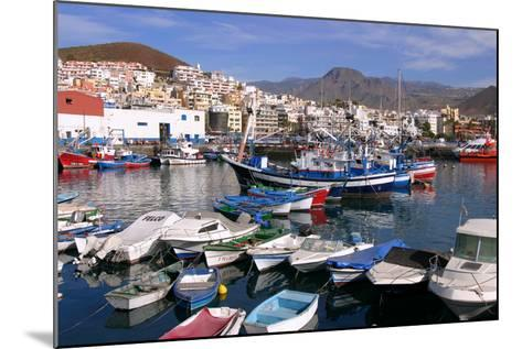 Harbour, Los Cristianos, Tenerife, Canary Islands, 2007-Peter Thompson-Mounted Photographic Print