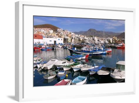 Harbour, Los Cristianos, Tenerife, Canary Islands, 2007-Peter Thompson-Framed Art Print