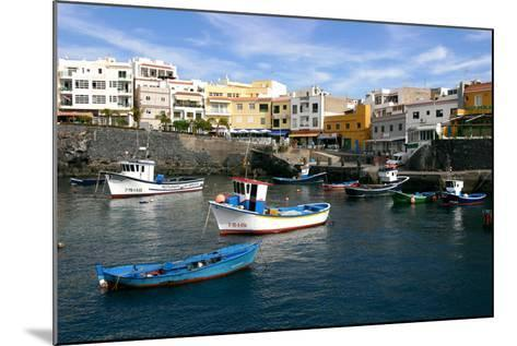 Harbour of Los Abrigos, Tenerife, Canary Islands, 2007-Peter Thompson-Mounted Photographic Print