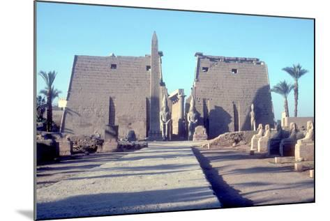 Temple Sacred to Amun Mut and Khons (Khonsu), Luxor, Egypt-CM Dixon-Mounted Photographic Print
