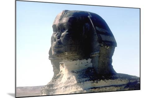 The Sphinx, Giza, Egypt, Period of Khafre, 4th Dynasty, 26th Century Bc-CM Dixon-Mounted Photographic Print
