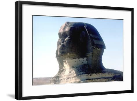 The Sphinx, Giza, Egypt, Period of Khafre, 4th Dynasty, 26th Century Bc-CM Dixon-Framed Art Print