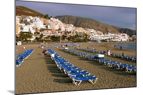 Playa De Las Vistas, Los Cristianos, Tenerife, Canary Islands, 2007-Peter Thompson-Mounted Photographic Print