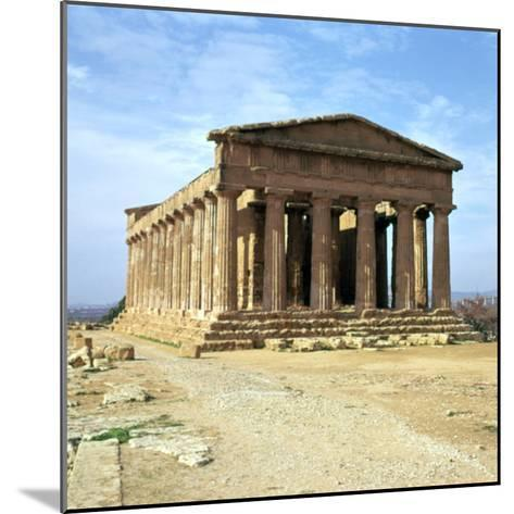 The Temple of Concord on Sicily, 5th Century-CM Dixon-Mounted Photographic Print