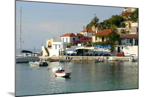 Assos, Kefalonia, Greece-Peter Thompson-Mounted Photographic Print