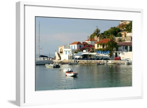 Assos, Kefalonia, Greece-Peter Thompson-Framed Art Print