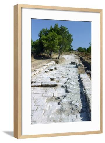 Salamis, North Cyprus-Peter Thompson-Framed Art Print
