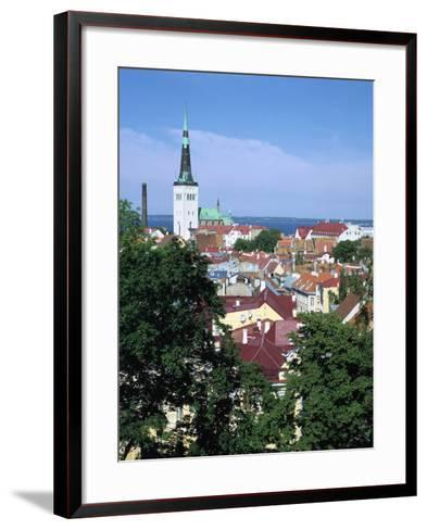 St Olavs Church, Tallinn, Estonia-Peter Thompson-Framed Art Print