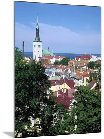 St Olavs Church, Tallinn, Estonia-Peter Thompson-Mounted Photographic Print